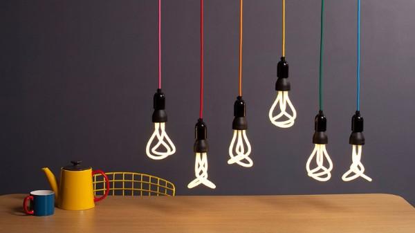 Plumen designer low-energy lightbulbs