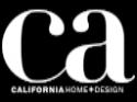 California Home + Design Placewares