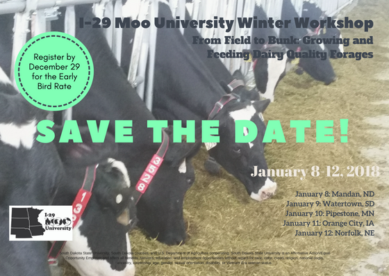 I29 Dairy Winter Workshop postcard front