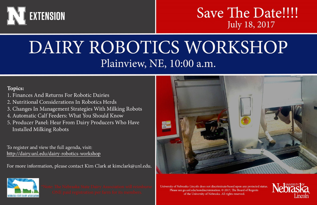 Dairy Robotics Save the Date