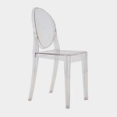 Chaise Ghost sans accoudoir