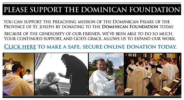 Click here to donate to the Dominican Foundation.