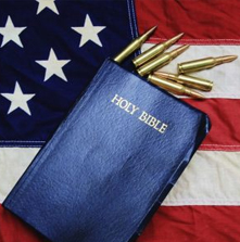 A Bible in One Hand, a Gun in the Other