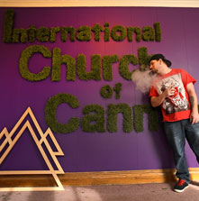Cannabis Church Sparks Outrage