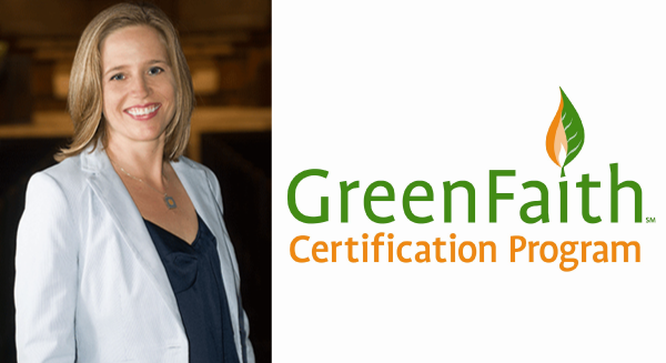 Kim Morrow & Greenfaith logo
