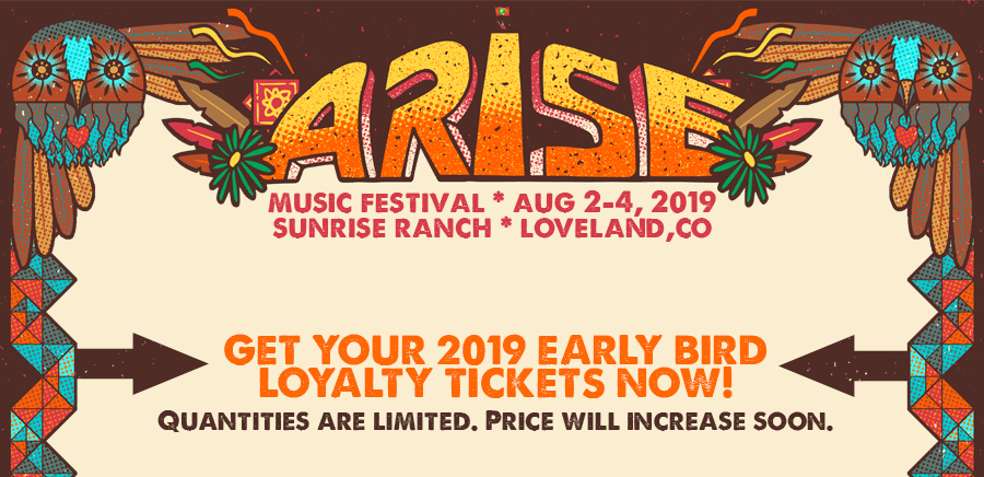 Get your Arise Early Bird Loyalty Tickets