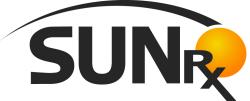SunRx logo.