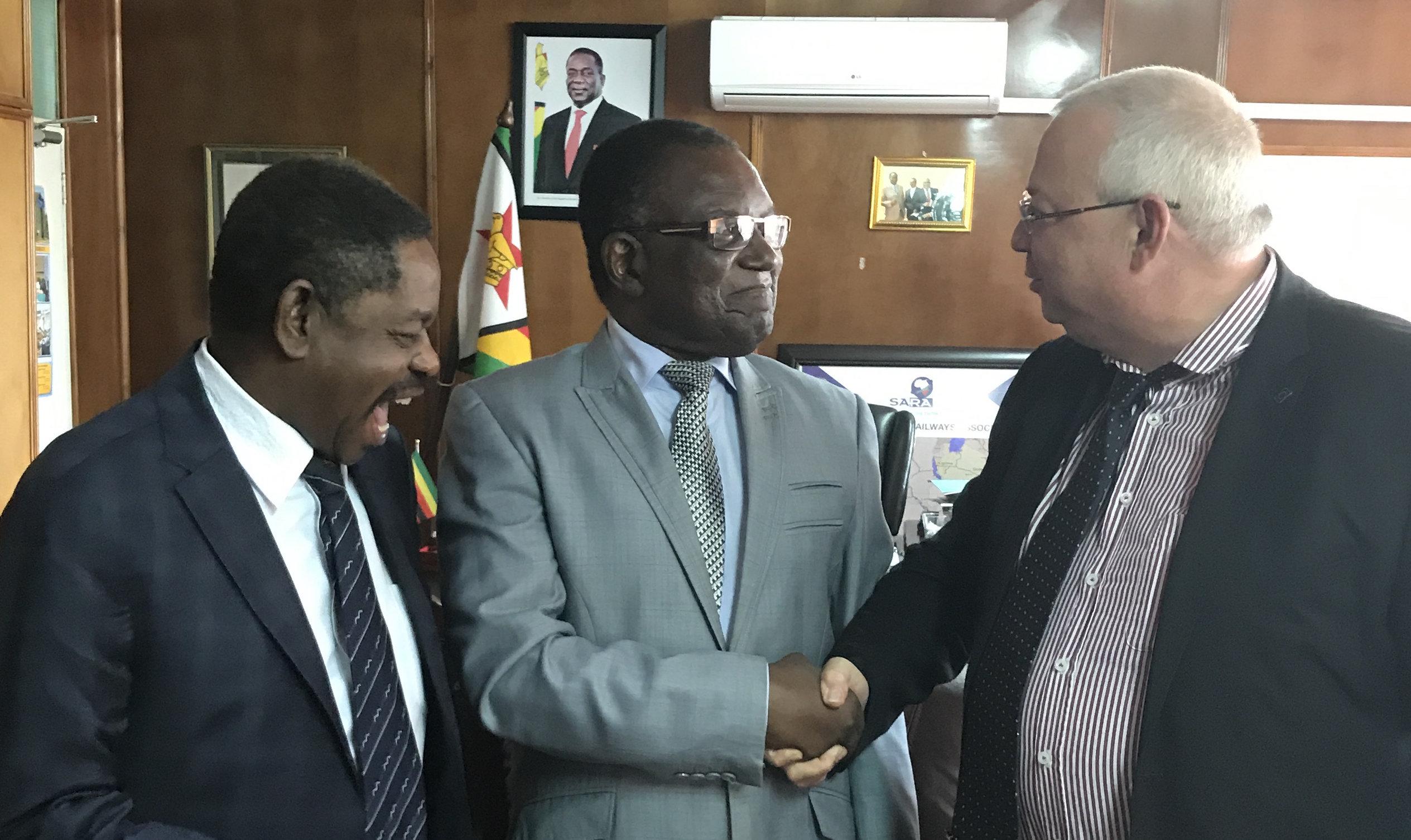 Minister Gumbo & R M Ertner