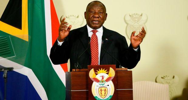 Ramaphosa announces Stimulus Package