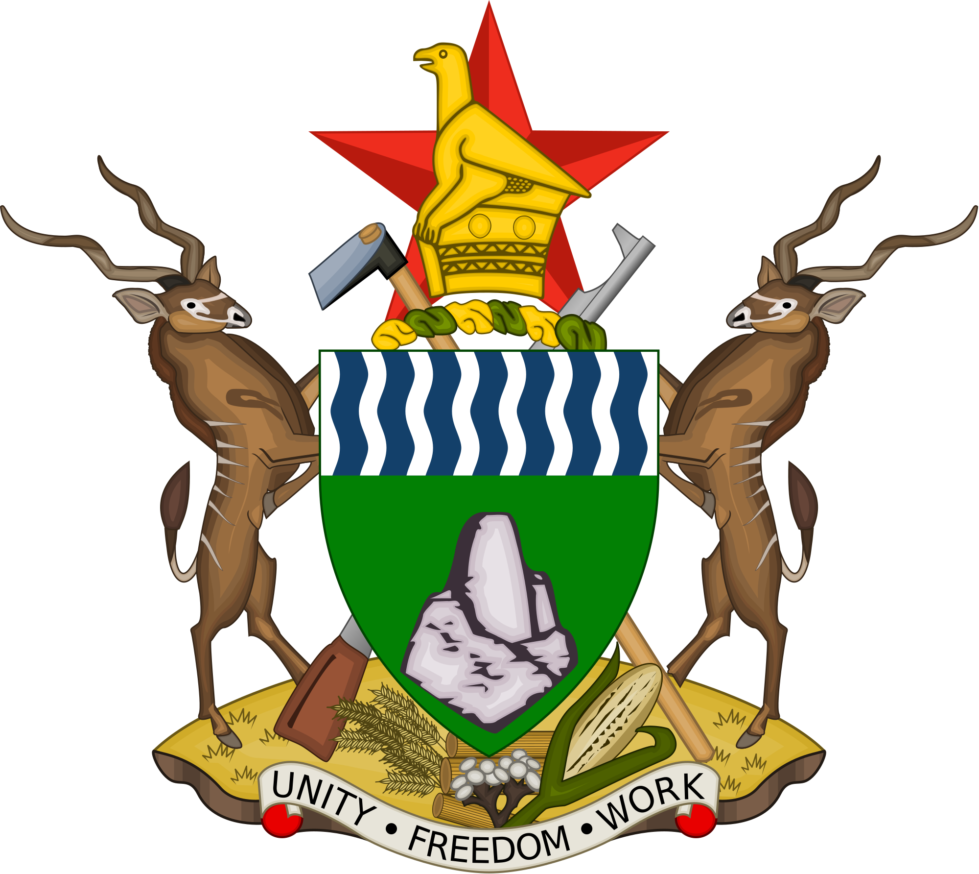 Coat of Arms Zimbabwe