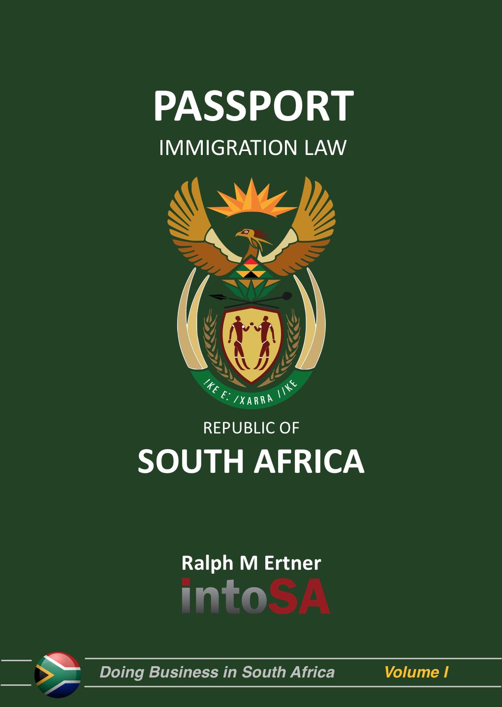 Into SA Immigration Passport