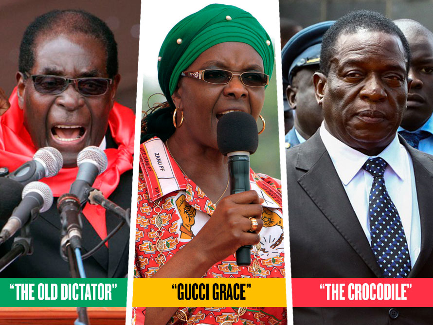 Mugabe, Mugabe & Mnangagwa