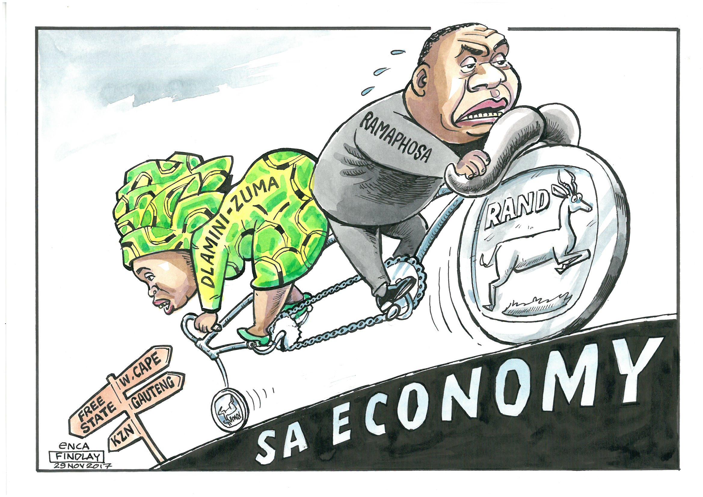 Ramaphosa vs Dlamini-Zuma
