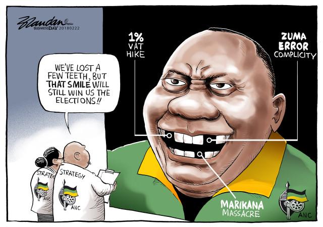 Ramaphosa 's Smile