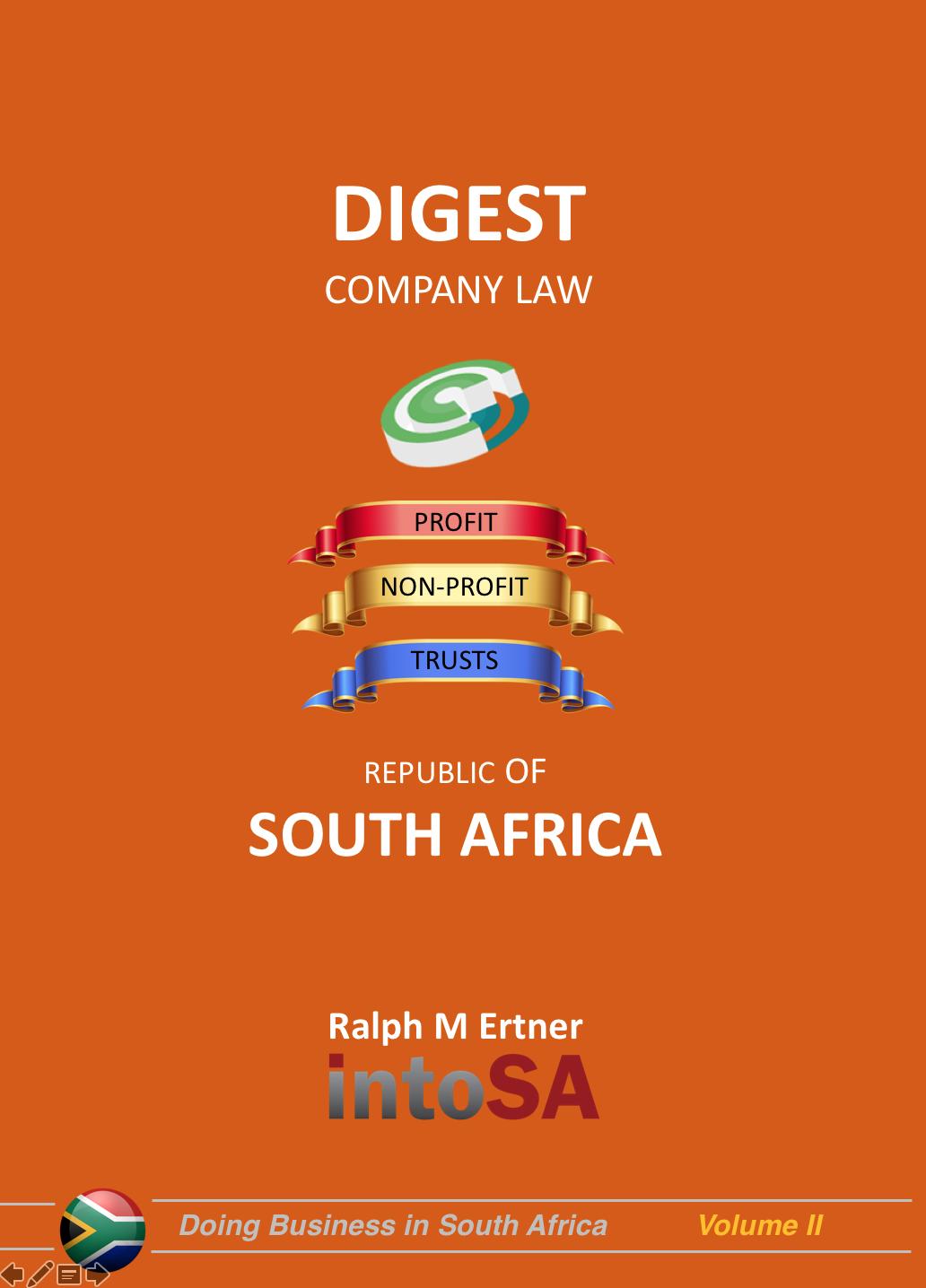 Into SA Company Law Digest