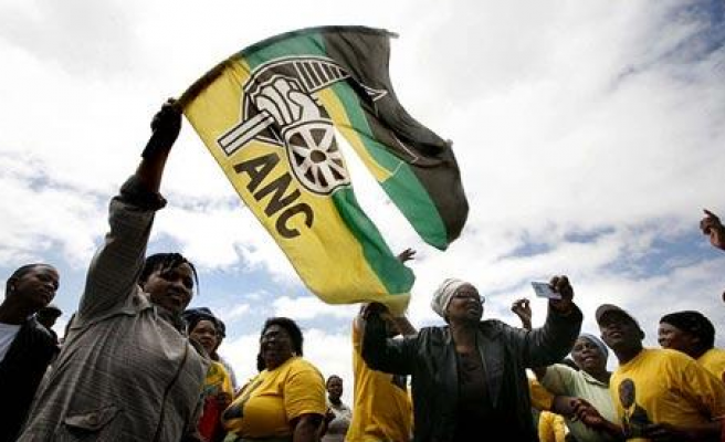 ANC Flag is flying