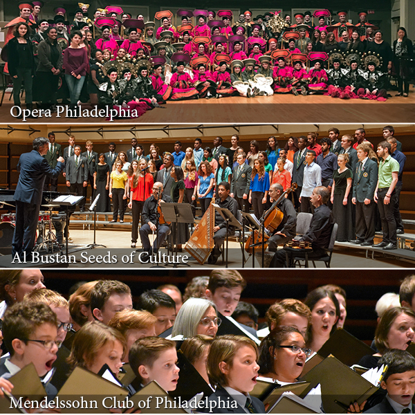 Commonwealth Youthchoirs collaborators