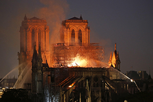 Notre Dame: Where it Was, as it Was