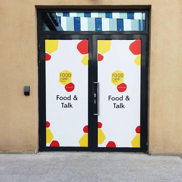 Food & Talk 2018 - teippaus: Länsimainos/Elido