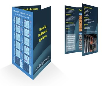 Flyer on näppärä tapa esitellä yrityksen palveluita.