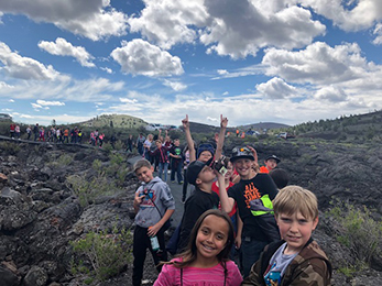 Tendoy Elementary at Craters of the Moon National Monument and Reserve