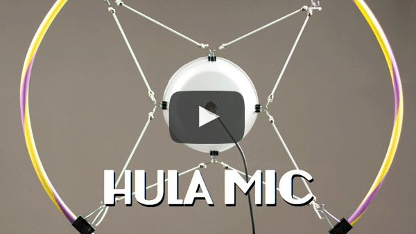 Hula Mic Demo by Zeppelin Design Labs