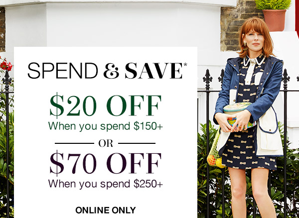 Save $70 off when you spend $250 or more + free shipping on orders over $99 at Clarks.