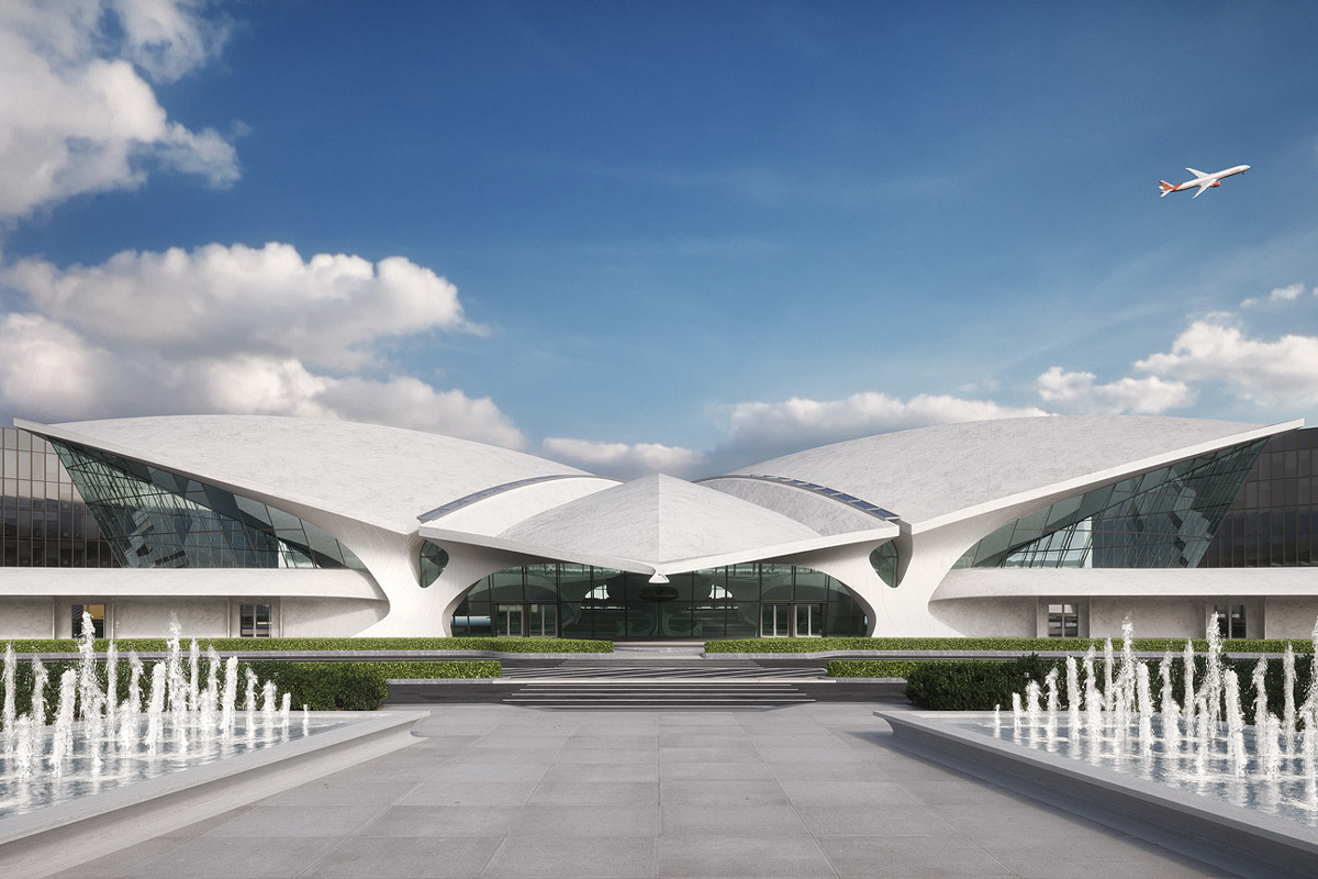The Paris Café by Jean-Georges will serve meals inside the Saarinen-designed landmark.