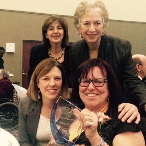 Renette Sasouni, JC Sulzenko, Erin McNamara and Paula Agulnik at the Celebration of People 2015