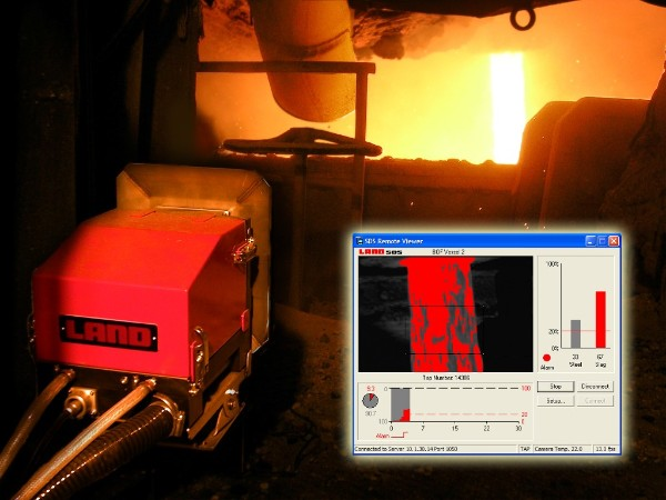 Slag Detection System Available Worldwide