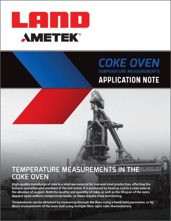 Application Note - COKE OVEN TEMPERATURE MEASUREMENT