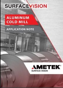 Aluminum Cold Mill Application Note