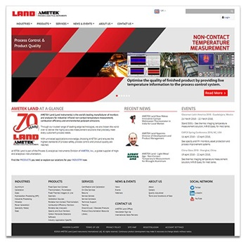 AMETEK Land Launches Revamped Web Platform
