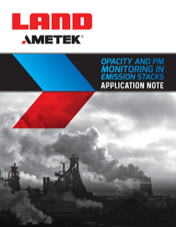 Opacity and PM Monitoring in Emission Stacks Application Note