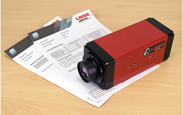 AMETEK Land Standardises Certificates of Conformity and Adds Calibration Data as Standard for Fixed Thermal Imagers and Line Scanners