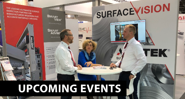 AMETEK SURFACE VISION UPCOMING EVENTS