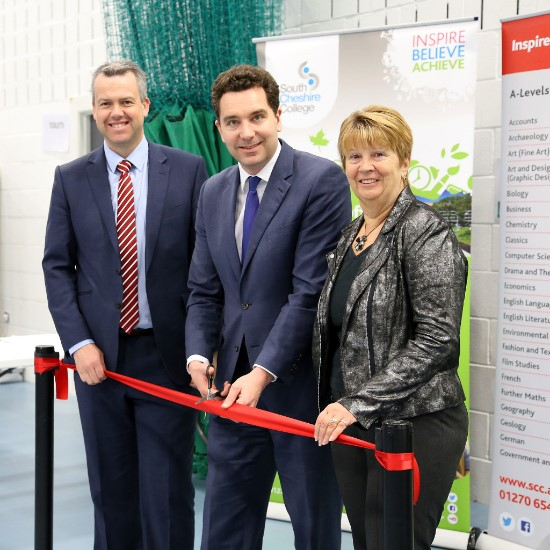 Paul Colman, Edward Timpson MP and Dame Pat Bacon