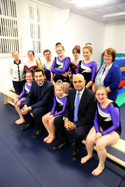Sajid Javid MP at the Cheshire Academy