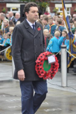 Remembrance Sunday image by Peter Wigley
