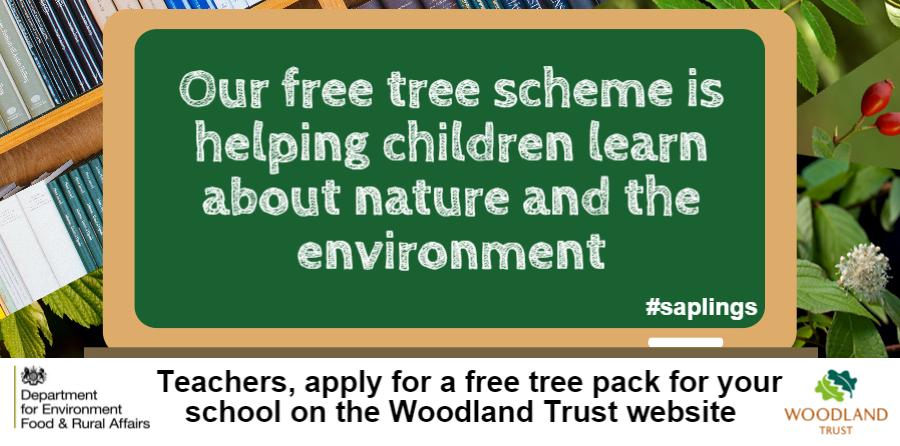 Woodland Trust free trees scheme