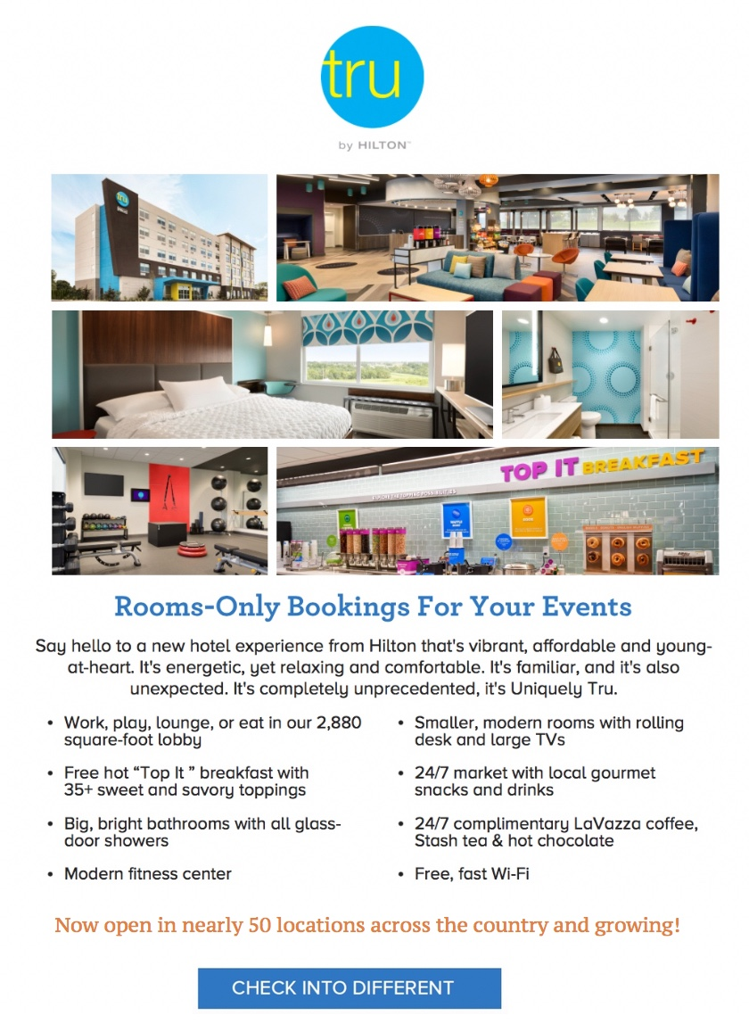 Rooms – Only Bookings For Your Events