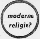 Moderne religie