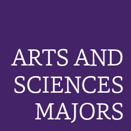 Arts and Sciences majors color box