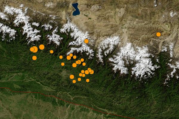 US Geological Survey of 2015 Nepal earthquake