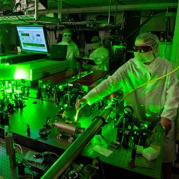 Scarlet Laser Facility photo
