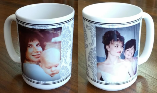 Mother-Daughter Wedding Mug