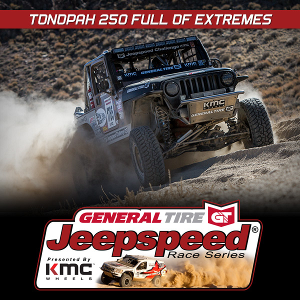 Tonopah 250 Full Of Extremes For Jeepspeed Racers