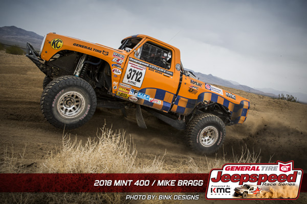 Mike Bragg, Jeepspeed, Bink Designs, The Mint 400, General Tire Grabber X3