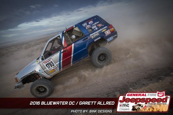 Garett Allred, Jeepspeed, General Tire Grabber, KMC Wheels, King Shocks, Currie Enterprises
