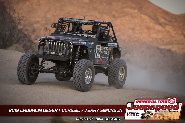 Jerry Simonson, Jeepspeed, General Tire, KMC Wheels, Bink Designs